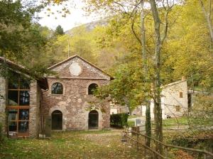 Antic edifici de la Fàbrica de pans